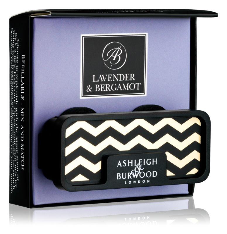 Ashleigh & Burwood London Car Lavender & Bergamot vůně do auta   clip