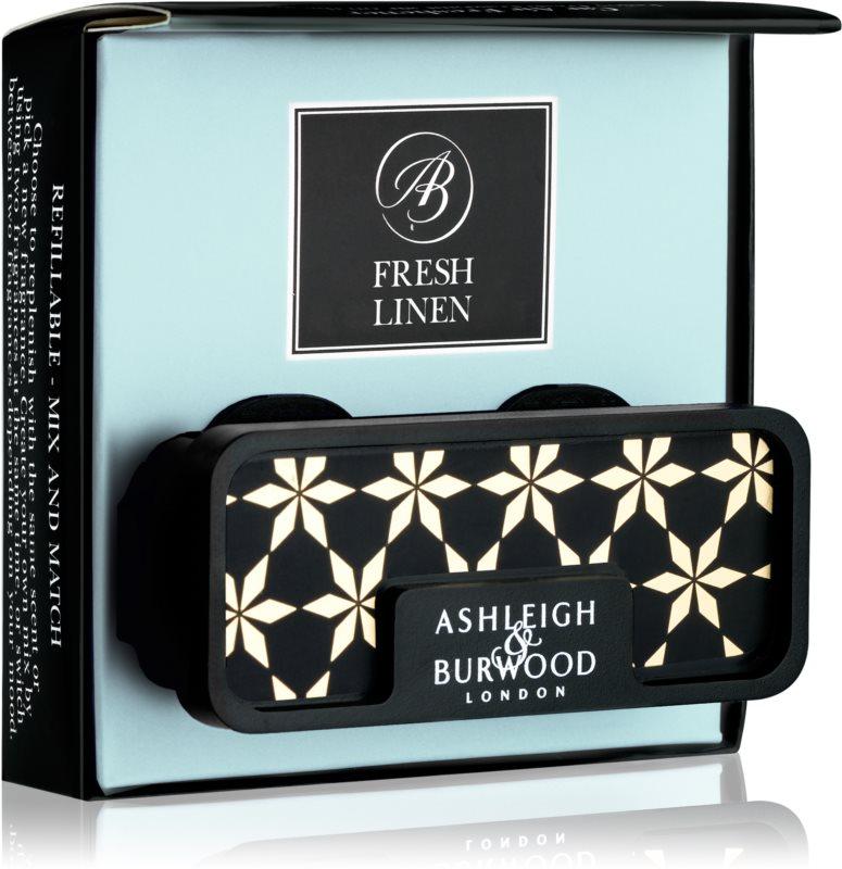 Ashleigh & Burwood London Car Fresh Linen vôňa do auta   clip