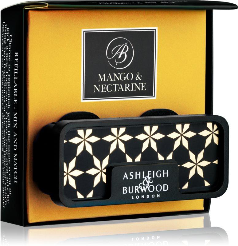 Ashleigh & Burwood London Car Mango & Nectarine Auto luchtverfrisser    Clip