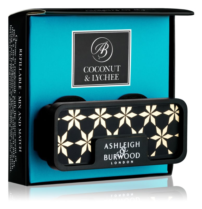 Ashleigh & Burwood London Car Coconut & Lychee désodorisant voiture   clip