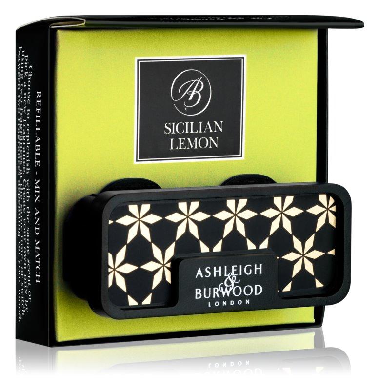 Ashleigh & Burwood London Car Sicilian Lemon Auto luchtverfrisser    Clip