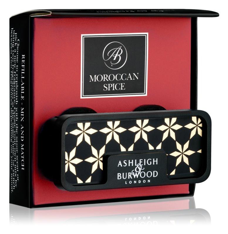 Ashleigh & Burwood London Car Moroccan Spice Άρωμα για αυτοκίνητο   κλιπ