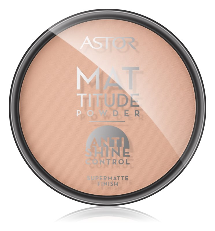 Astor Mattitude Anti Shine matující pudr