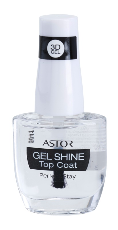 Astor Perfect Stay 3D Gel Shine protective top coat of gloss