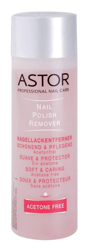 Astor Acetone Free Nail Polish Remover Without Acetone