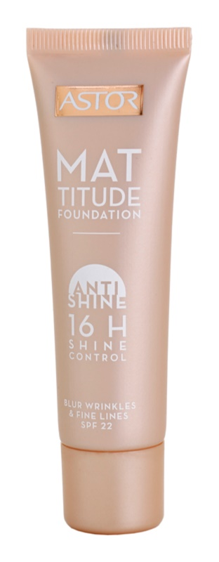 Astor Mattitude Anti Shine Mattifying Foundation
