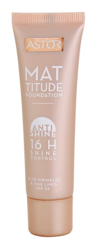 Astor Mattitude Anti Shine тональний крем з матуючим ефектом