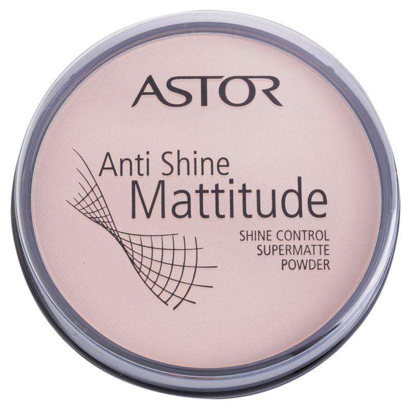 Astor Mattitude Anti Shine cipria opacizzante