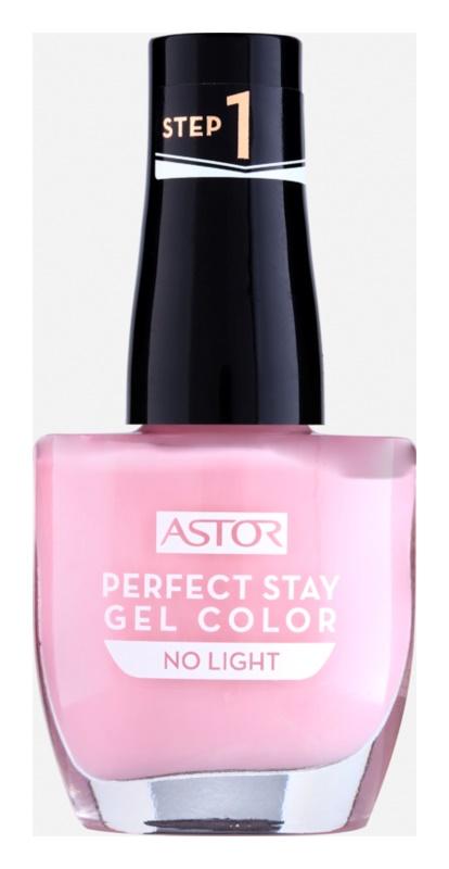 Astor Perfect Stay Gel Color gélový lak na nechty bez použitia UV/LED lampy