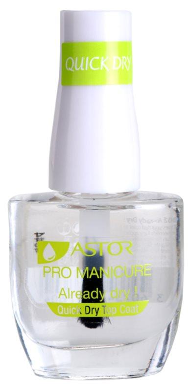 Astor Pro Manicure Snel Drogende Top Coat  voor Nagels