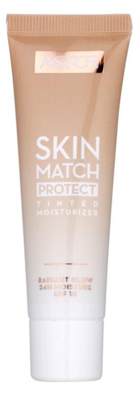 Astor Skin Match Protect тонуючий зволожуючий крем SPF 15