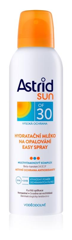 Astrid Sun hydratační mléko na opalování ve spreji SPF30