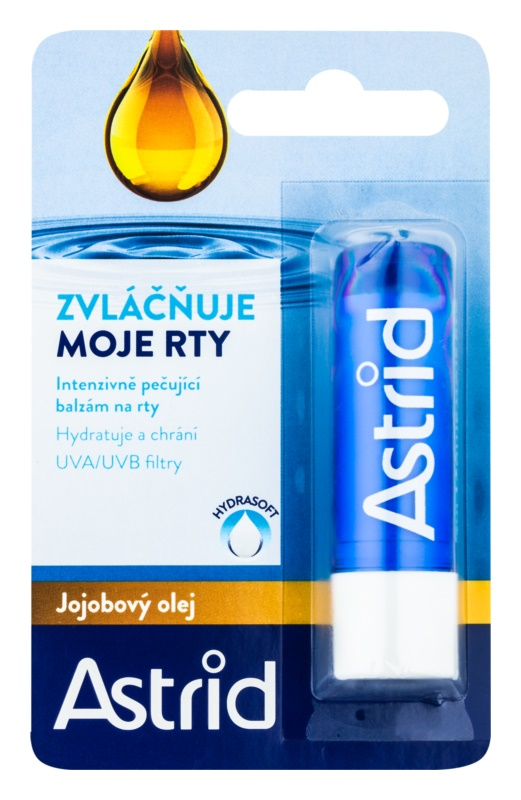 Astrid Lip Care intenzivni negovalni balzam za ustnice z jojobinim oljem