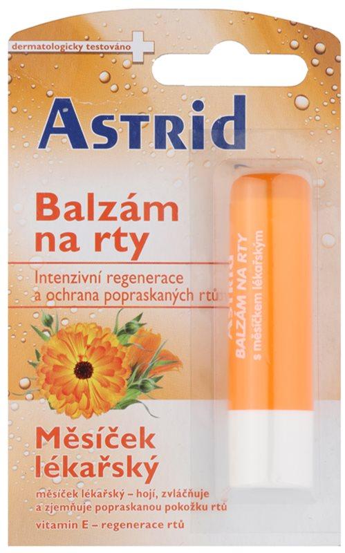 Astrid Lip Care baume à lèvres régénérant au calendula