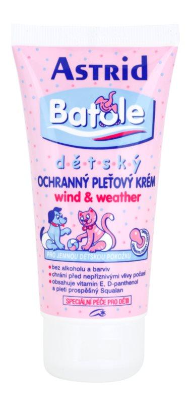 Astrid Baby crema protettiva contro gli sbalzi di tempreatura per bambini