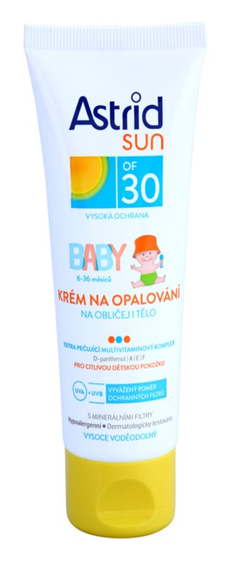 Astrid Sun Baby protectie solara pentru copii SPF30