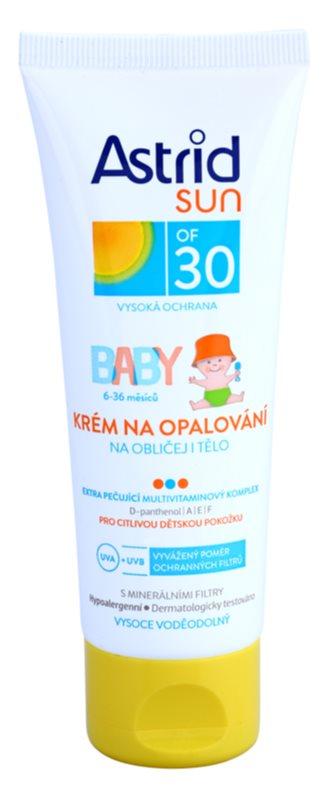 Astrid Sun Baby παιδική αντηλιακή κρέμα SPF30