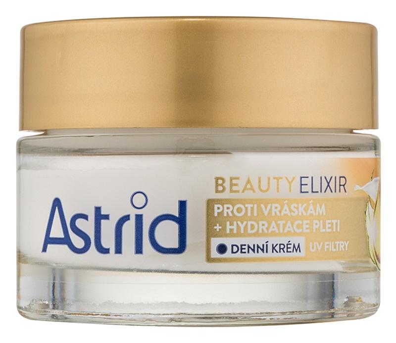 Astrid Beauty Elixir crema de día hidratante  antiarrugas