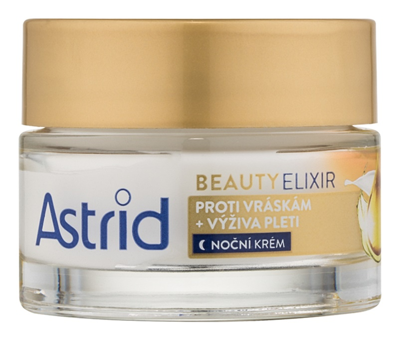 Astrid Beauty Elixir tápláló éjszakai krém a ráncok ellen