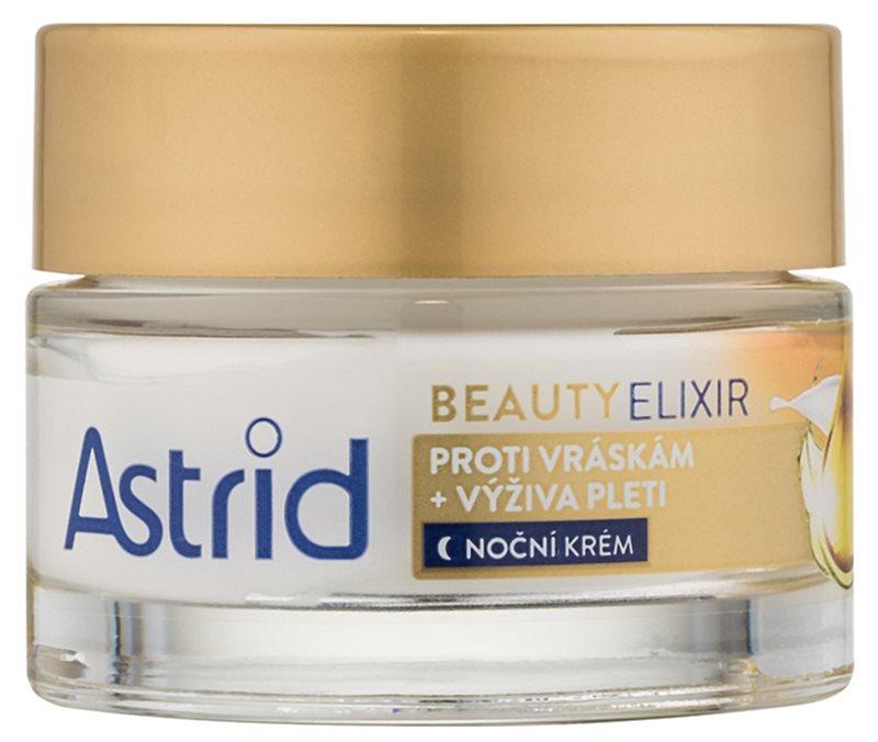 Astrid Beauty Elixir vyživující noční krém proti vráskám