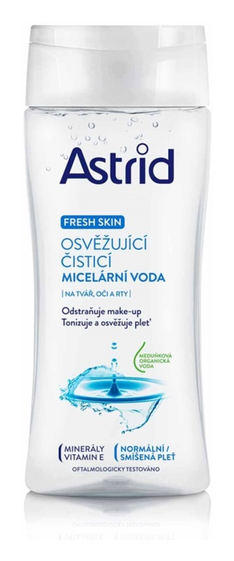 Astrid Fresh Skin acqua micellare detergente rinfrescante