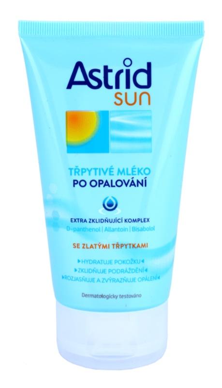 Astrid Sun молочко з сяючими частинками після засмаги