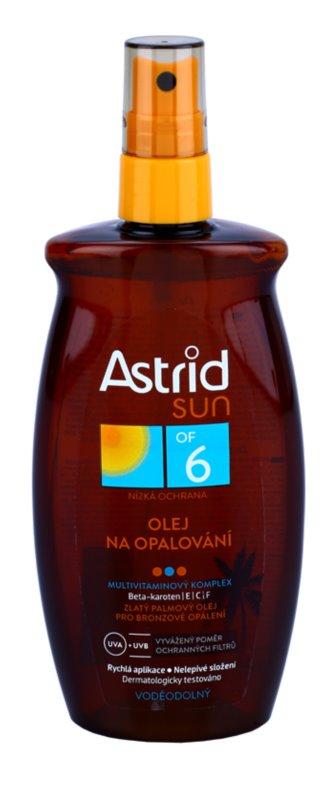 Astrid Sun olej v spreji na opaľovanie SPF 6