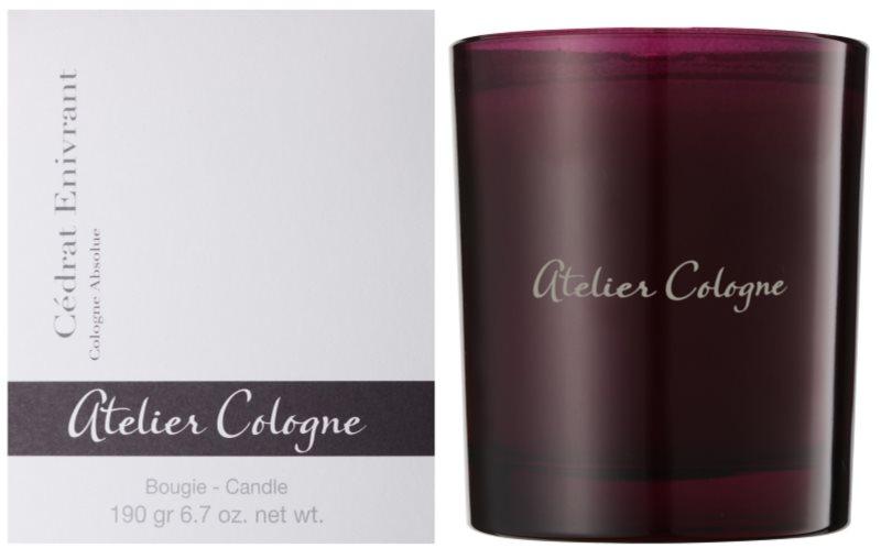 Atelier Cologne Cedrat Enivrant vonná sviečka 190 g