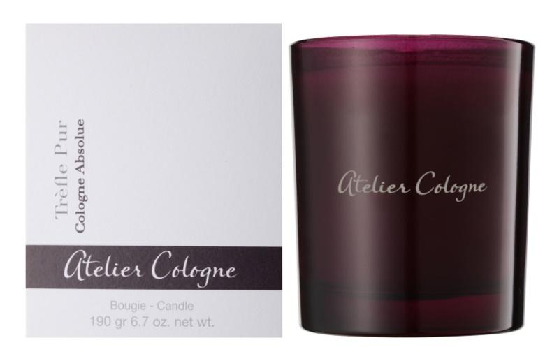 Atelier Cologne Trefle Pur świeczka zapachowa  190 g