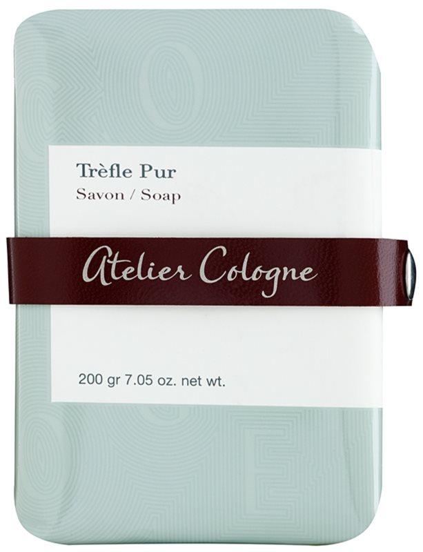 Atelier Cologne Trefle Pur parfémované mýdlo unisex 200 g