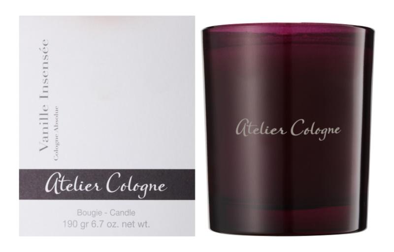 Atelier Cologne Vanille Insensee vonná sviečka 190 g