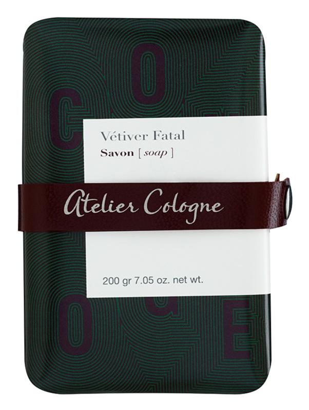 Atelier Cologne Vetiver Fatal parfémované mydlo unisex 200 g