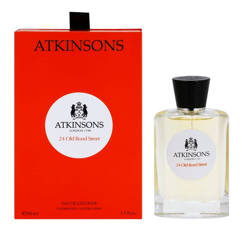 Atkinsons 24 Old Bond Street Eau de Cologne para homens 50 ml