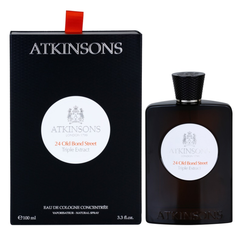 Atkinsons 24 Old Bond Street Triple Extract Eau de Cologne voor Mannen 100 ml
