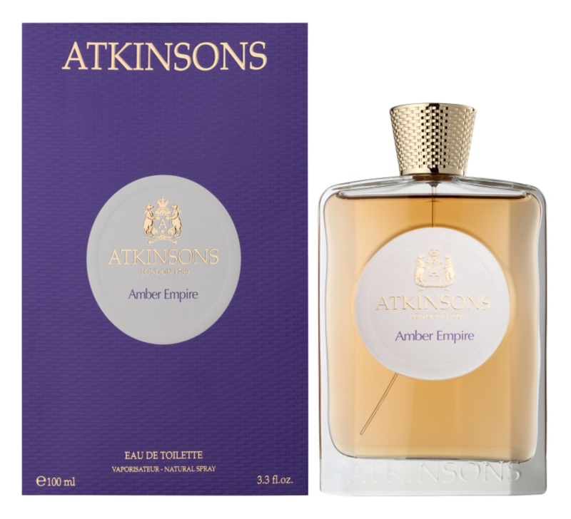 Atkinsons Amber Empire eau de toilette unisex 100 ml