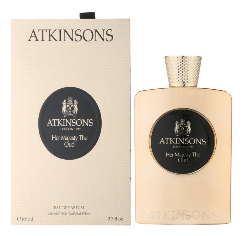 Atkinsons Her Majesty Oud eau de parfum pour femme 100 ml