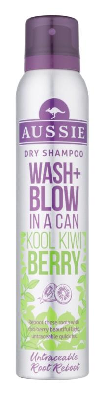Aussie Wash+ Blow Kool Kiwi Berry száraz sampon