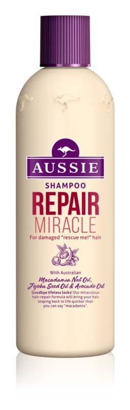 Aussie Repair Miracle champô para cabelo rebelde