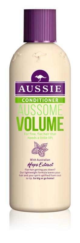 Aussie Aussome Volume kondícionáló finom és lesimuló hajra