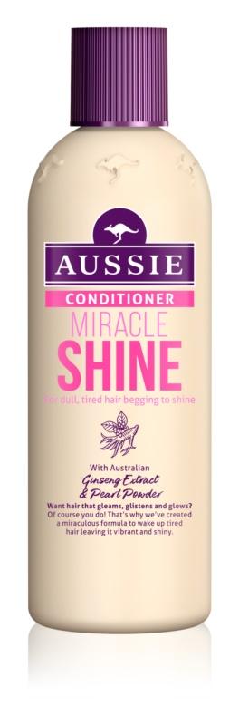 Aussie Miracle Shine balsam pentru păr obosit, fără strălucire