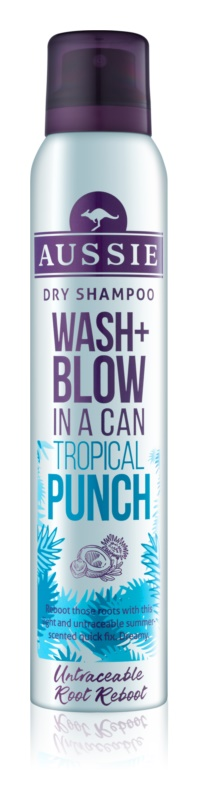 Aussie Wash+ Blow Tropical Punch сухий шампунь