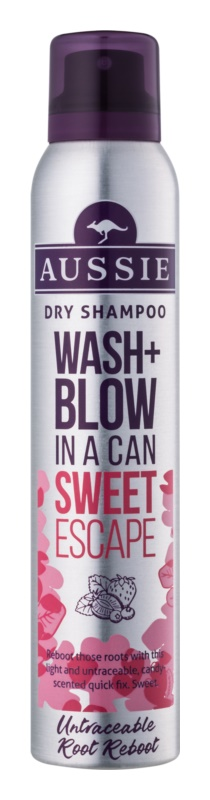 Aussie Wash+ Blow Sweet Escape száraz sampon