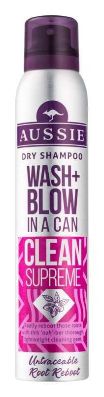 Aussie Wash+ Blow Clean Supreme sampon uscat