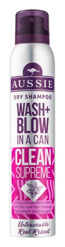Aussie Wash+ Blow Clean Supreme suchý šampón