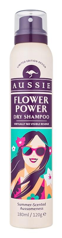 Aussie Flower Power sampon uscat cu parfum floral delicat