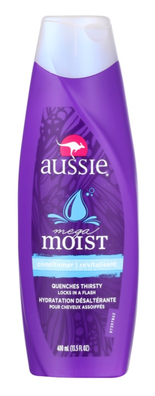 Aussie Moist condicionador hidratante para todos os tipos de cabelos