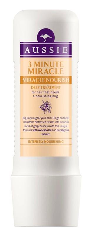 Aussie Miracle Nourish mască nutritivă 3 minute par