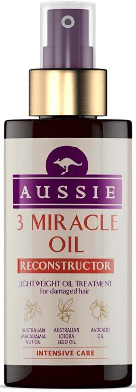 Aussie Repair Miracle soin à l'huile pour cheveux abîmés