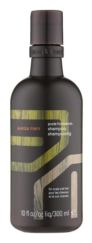 Aveda Men Pure - Formance champô para cabelo para cabelo e couro cabeludo oleosos