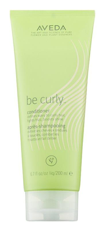 Aveda Be Curly Conditioner  voor Krullend en Gepermanent Haar
